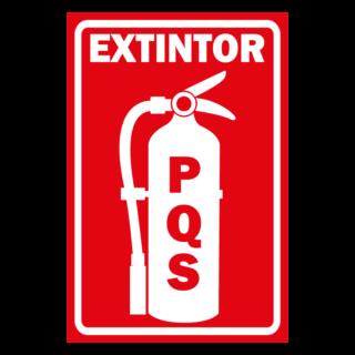 Senaletica Extintor PQS