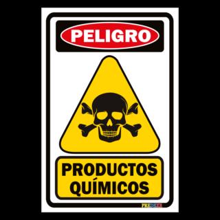 Senaletica Productos Quimicos